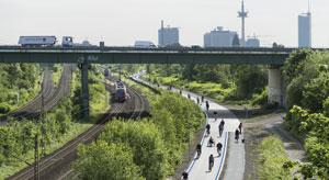 Radschnellweg Ruhr (RS1). Bild: Ministerium für Verkehr NRW.