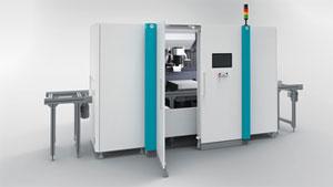 Das BLS 500 ist eine flexible, modulare Plattform für unterschiedliche Laserprozesse bei der Herstellung von Li-Ion-Batterien.