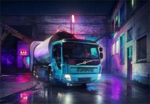 Der Volvo FE Electric hat laut Hersteller eine Reichweite von bis zu 200 Kilometern