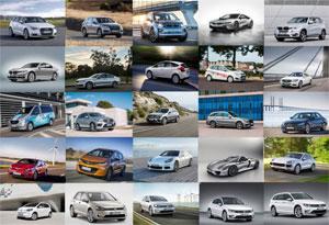 In den nächsten fünf bis acht Jahren wollen die deutschen Hersteller mehr als 150 neue Modelle mit Elektro-Antrieb auf die Straße bringen