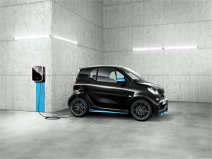 Mit dem neuen smart EQ fortwo/forfour hat Daimler heute das erste Elektrofahrzeug in Serie, das Plug&Charge unterstützt. Bild: Daimler