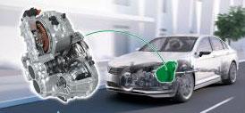 Schaeffler hat ein bauraumoptimiertes Getriebe für Plug-in-Hybrid-Fahrzeuge entwickelt. Es vereint die Vorteile eines automatisierten Schaltgetriebes mit denen des elektrifizierten Antriebsstrangs