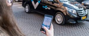 """Eine App berechnet in Echtzeit, welche Fahrten sich ohne nennenswerte Umwege """"poolen"""" lassen"""