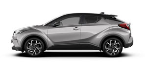 Den Toyota C-HR Hybrid wählten mehr als 80 Prozent aller Käufer in dieser Modellreihe