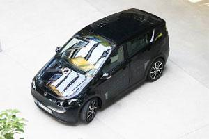 Der Sion ist das erste Serien-Elektroauto der Welt mit zusätzlichem Solar-Antrieb. Bild: Sono Motors