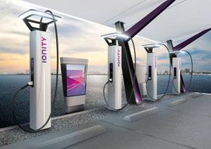 Im Auftrag von IONITY gestaltet Designworks ein europäisches Schnelllade-Netzwerk für Elektro-Fahrzeuge