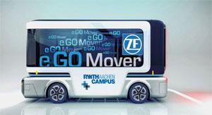 Der Elektro-Stadtbus fährt innerstädtisch bis zu zehn Stunden emissionsfrei und sehr leise