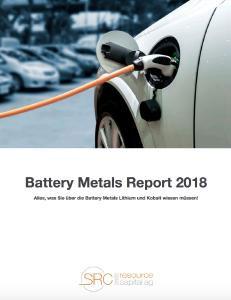 Der Report gibt einen breiten Überblick über Batteriemetalle und vermittelt Wissen über die Zukunft der Elektromobilität.