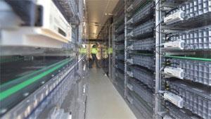 Für den Energiespeicher in Herdecke wurden 550 Pkw-Batteriemodule auf Lithium-Ionen-Basis verbaut