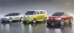 In Hannover soll neben der Fertigung konventionell angetriebener Fahrzeugen voraussichtlich ab 2022 die Produktion von Modellen der elektrisch angetriebenen ID.Buzz1-Familie starten.