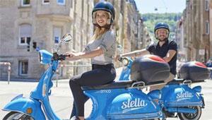 stella-sharing startete im August 2016 als erstes Elektro-Roller-Sharing für Stuttgart
