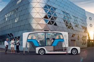 """Das Konzeptfahrzeug """"Snap"""" soll künftig zur Serienreife entwickelt werden"""