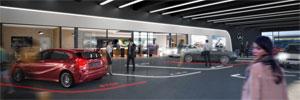 Die Elektromobilität soll die neu gestaltete Mercedes-Welt am Salzufer in besonderer Weise prägen