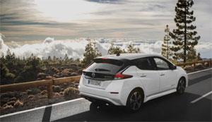 Von Januar bis Juni 2018 sind in Europa mehr als 18.000 Elektroautos vom Typ Nissan Leaf zugelassen worden