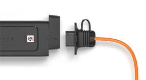 """Das neue Ladesystem für Elektro- und Hybridfahrzeuge wird zur Ladesäule zum Mitnehmen und gleichzeitig zur """"Wallbox light""""."""