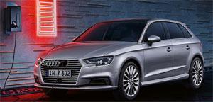 Für den Audi A3 e-tron mit Plug-In-Hybridantrieb wurden insgesamt 5.514 Anträge für den Umweltbonus gestellt. Bild. Audi