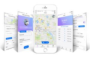 Die Share&Charge-App können sowohl Besitzer von Ladestationen als auch Fahrer von Elektro-Fahrzeugen nutzen.