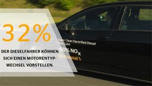 Laut Studie kann such rund ein Drittel der Dieselfahrer einen Wechsel zu einem anderen Motorentyp vorstellen