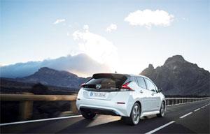 Die Nachfrage nach dem Elektro-Auto Leaf trug zum Wachstum von Nissan 2017 bei