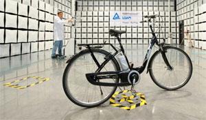 E-Bike-Test beim TÜV Rheinland