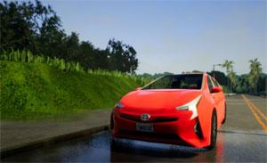 Mit dem Fahrsimulator soll das Funktionieren automatisierter Fahrzeuge in Verkehrssituationen sichergestellt werden, die sich nicht immer unter realen Bedingungen im Straßenverkehr testen lassen