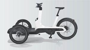 Bis zu 210 kg - den Fahrer eingerechnet - kann das Cargo-e-Bike laut Hersteller tragen.