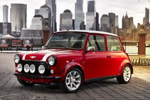 Der classic Mini Electric: Ein spätes und sorgsam restauriertes Exemplar des classic Mini erlebt seinen zweiten Frühling als Elektrofahrzeug