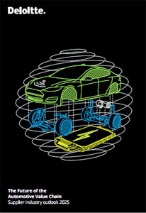 "Deloitte-Report ""The Future of the Automotive Value Chain: Supplier Industry Outlook 2025"""
