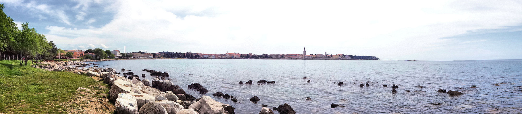 on Tour / Panorama Porec
