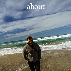 about menubutton self-portrait at the sea