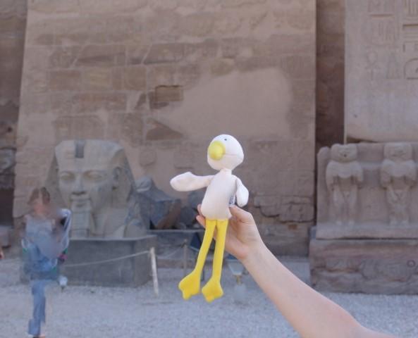 Cleo nella Valle dei re e delle regine 2013