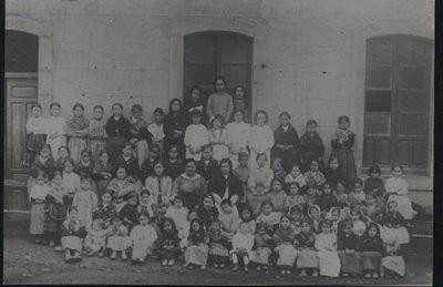 Foto escolar año 1922, foto de Mari Paz Lozano Manchado