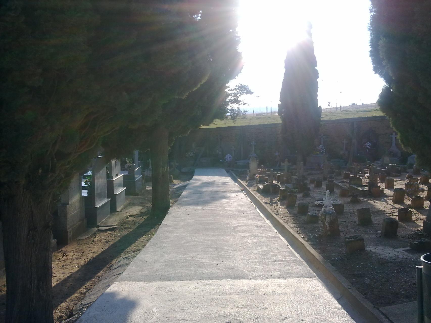 cementerio católico, cementerio civil, Salamanca, foto propia