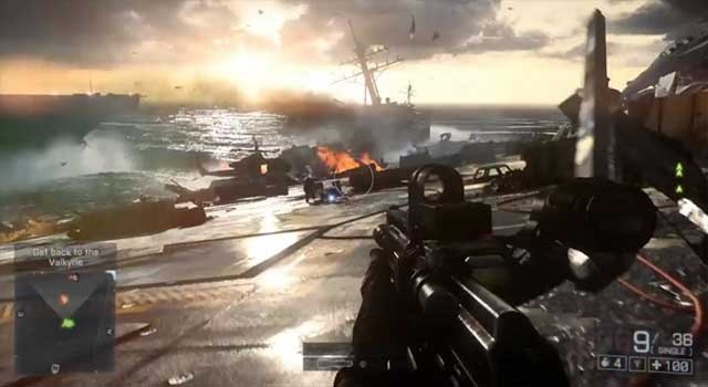 Altra immagine ingame di BattleField 4