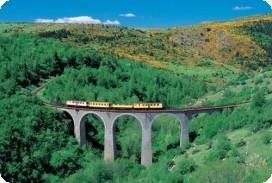 Gare de départ : Villefranche de Conflent : 4 km de Vernet les Bains
