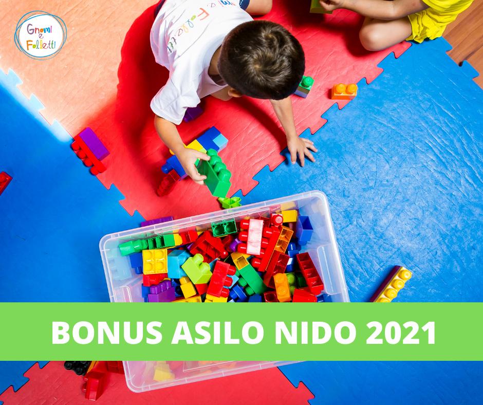 Domanda bonus Asilo Nido 2021:  aperta la procedura online