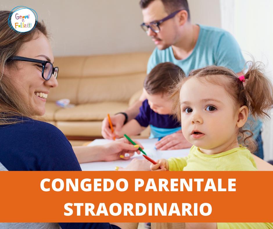 Congedo parentale straordinario Inps