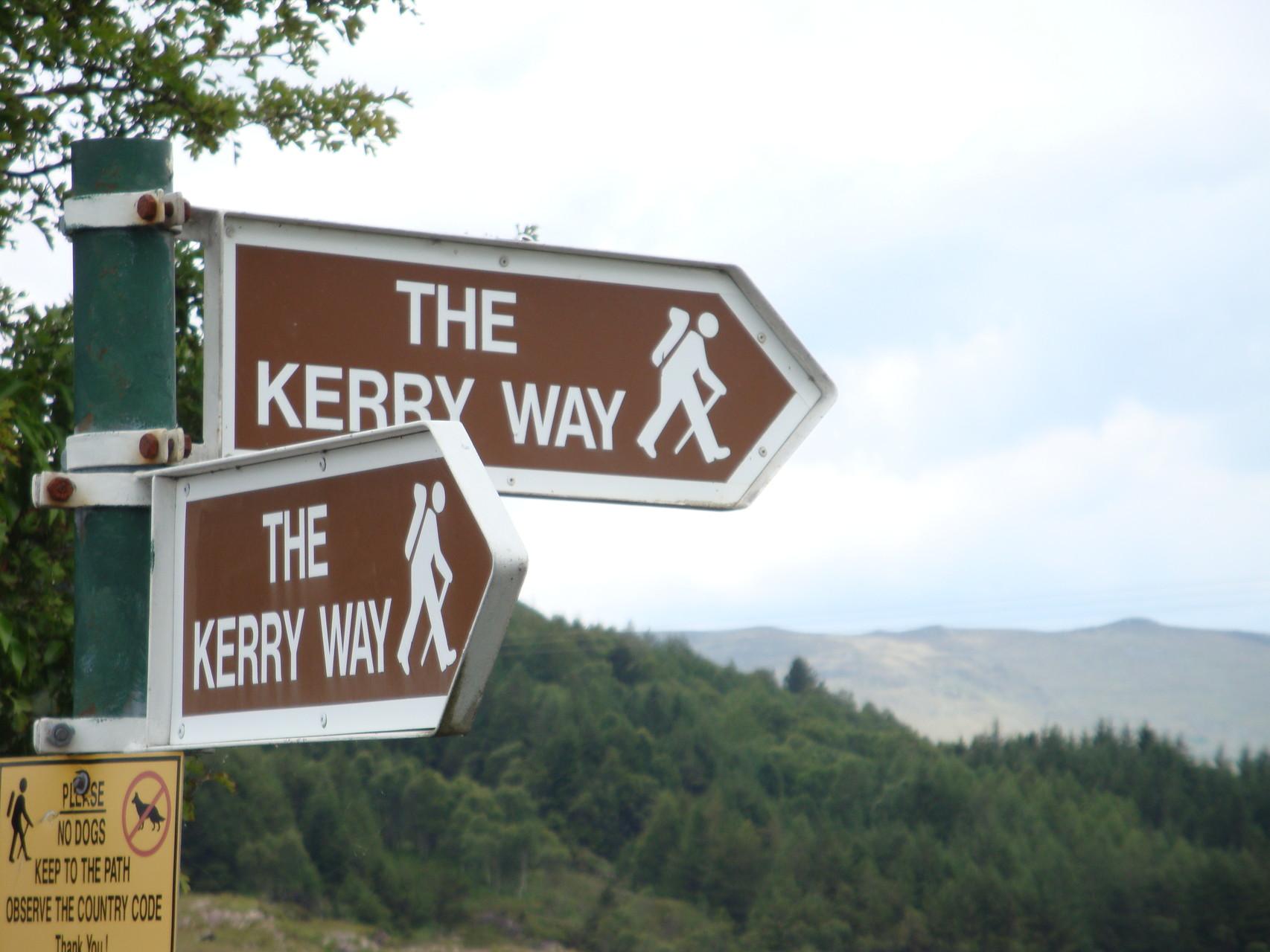 Entlang dem River Caragh zum Glendar House- 12 km