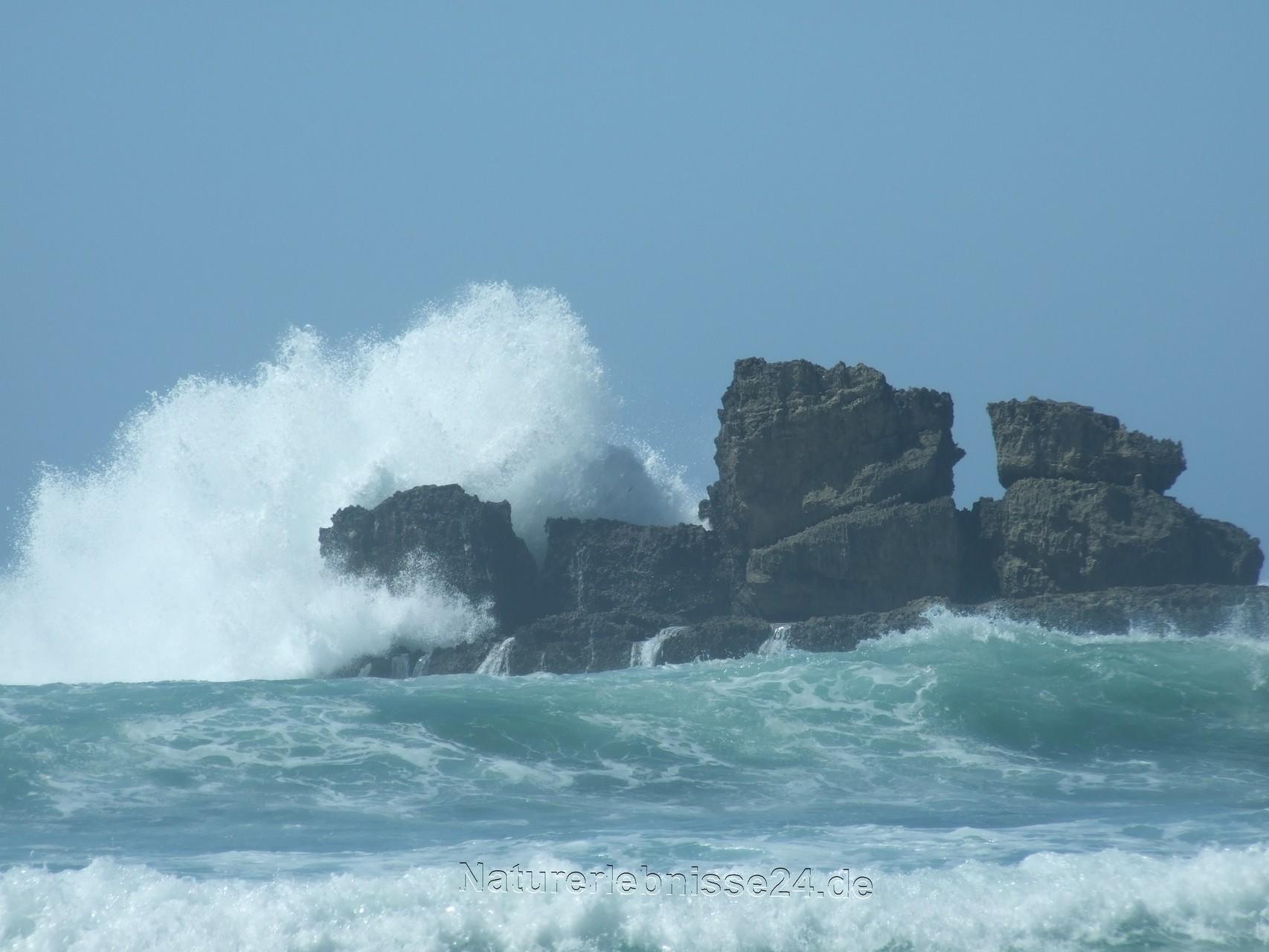Die Gewalt der Wellen