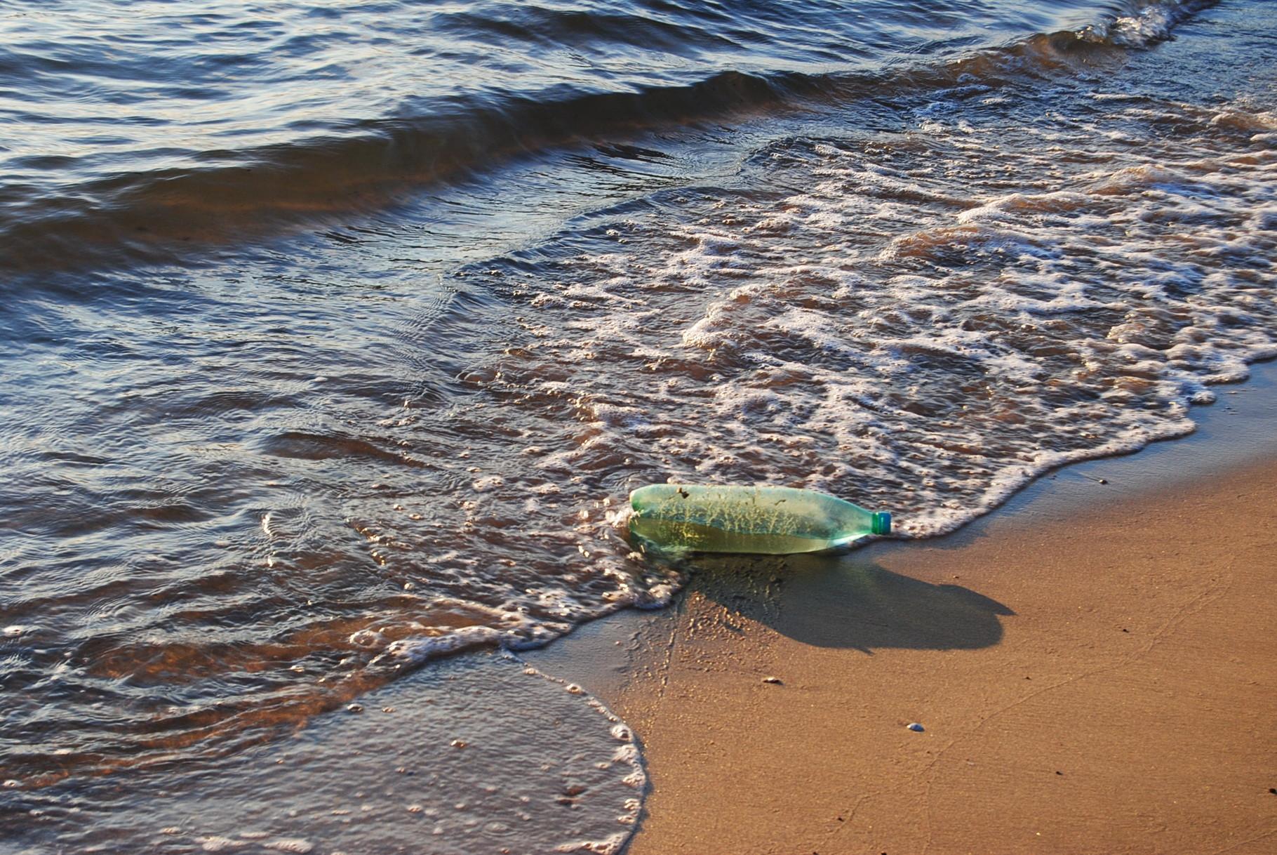 Keine Flaschenpost ohne Wasser © Barbara Beyer