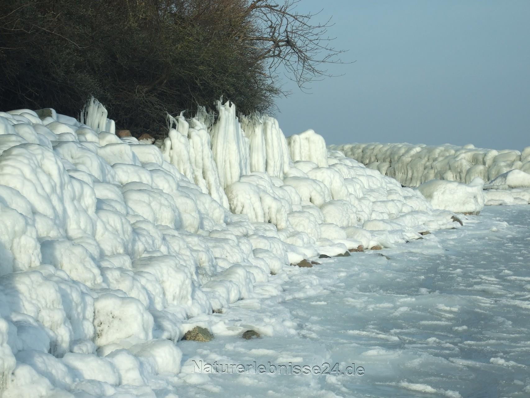 Ohne Wasser, keinen weißen Winter