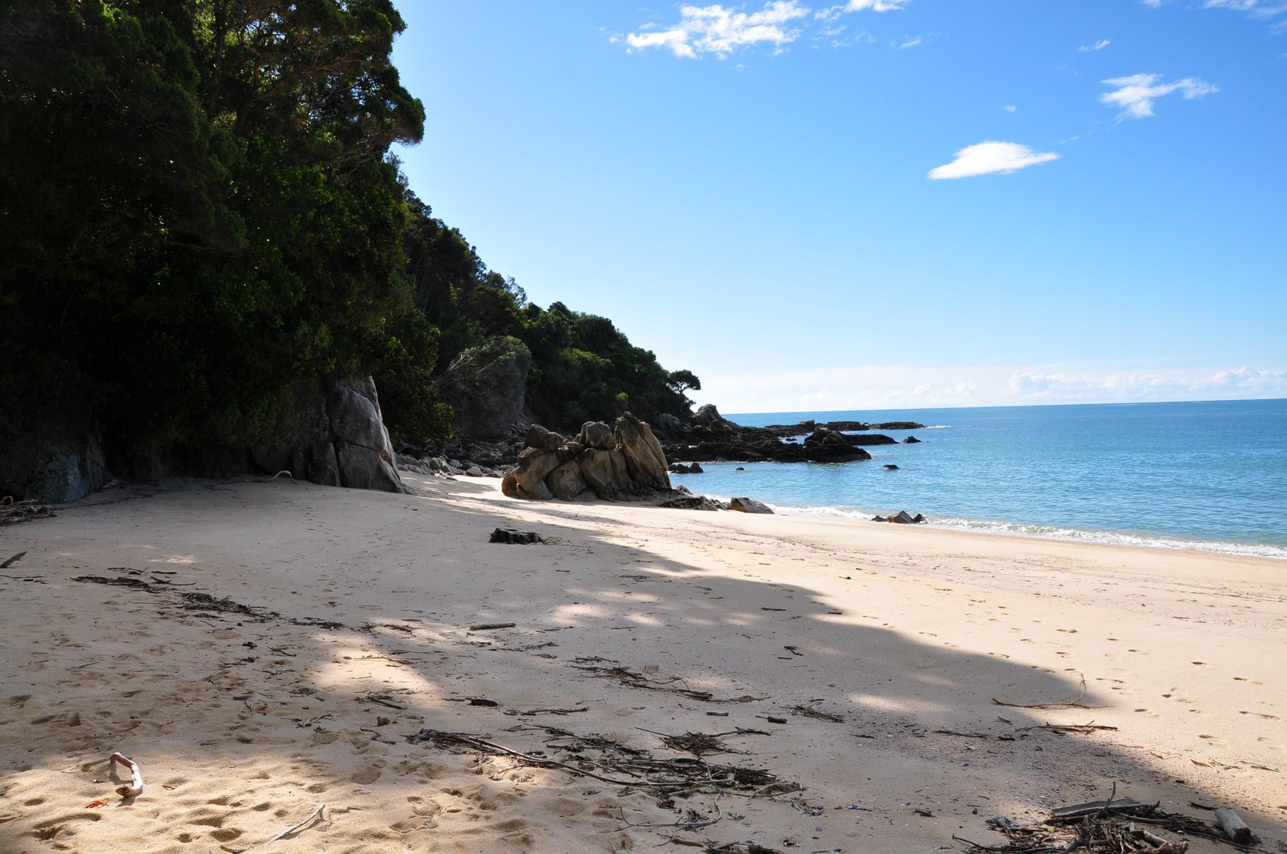 Einer der Stände am Abel Tasman