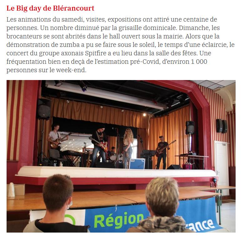 L'Aisne Nouvelle du 5 juillet 2021