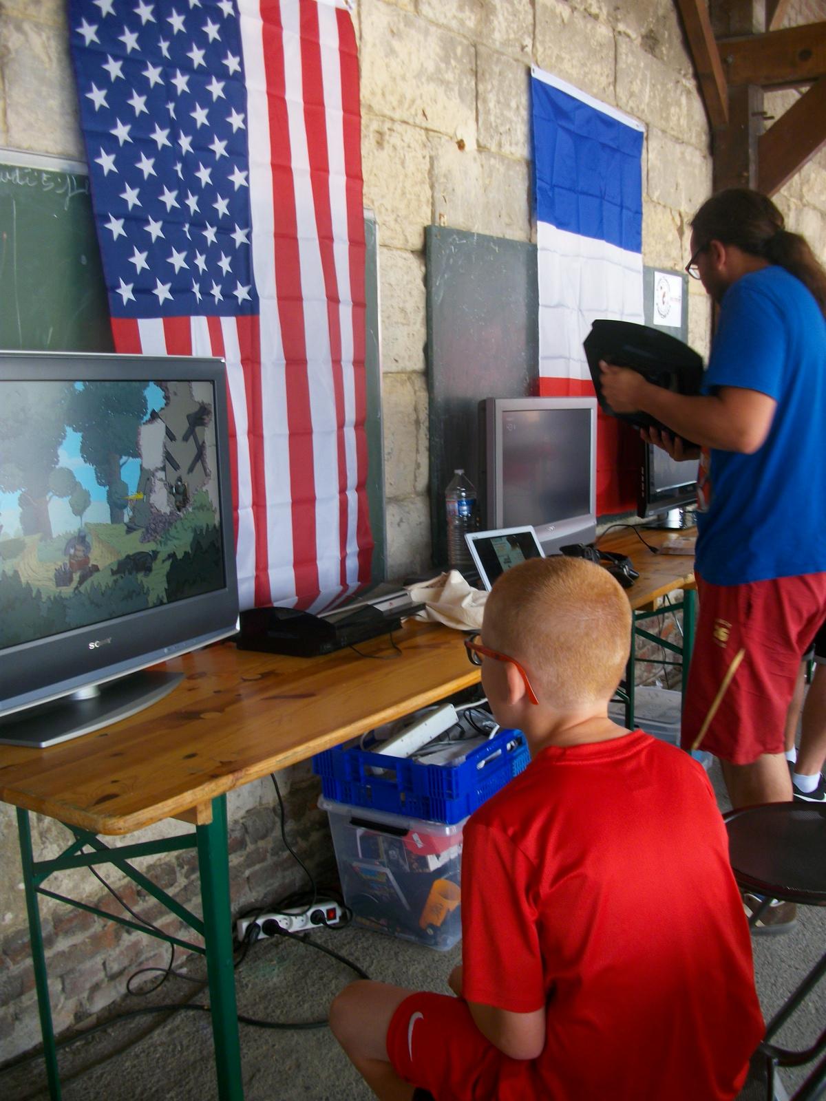 Jeux vidéos avec l'Association Crécysienne de Jeux Vidéo