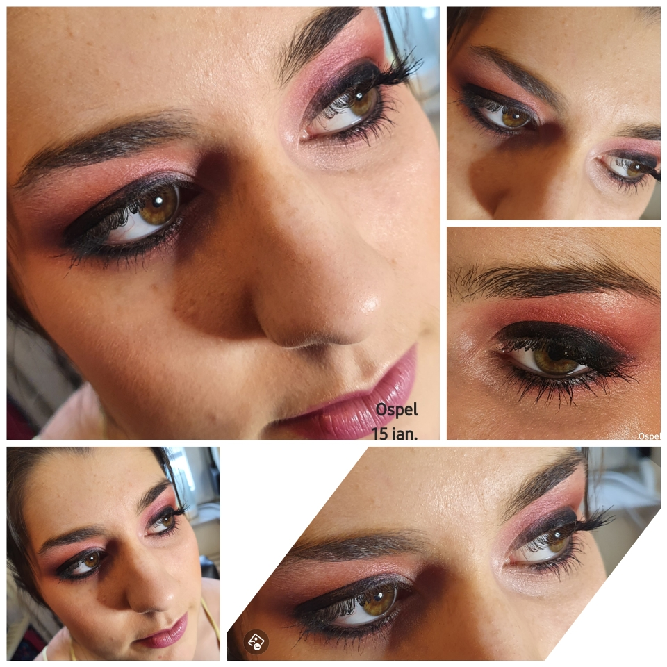 Mooi rose make-up