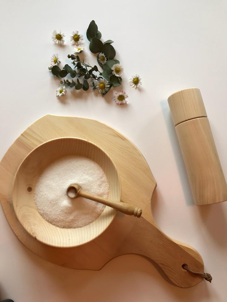 Alpendennen hout accessoires