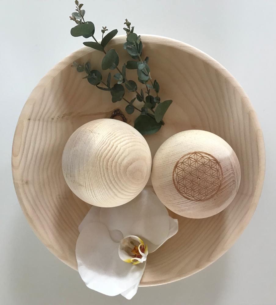 Alpendennen decoratieve ballen