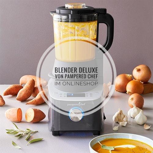 Blender Pampered Chef®, Blender Rezept, Zauberküche mit Herz, Blender Anleitung