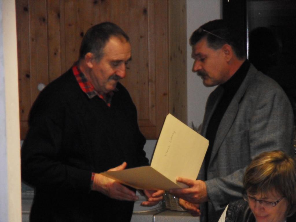 Klaus Lohrey (60 Jahre MGL) u. VS-MGL Norbert Simm
