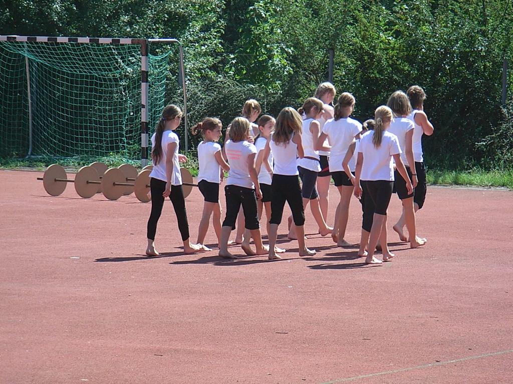 Einweihung Sportgelände 2011